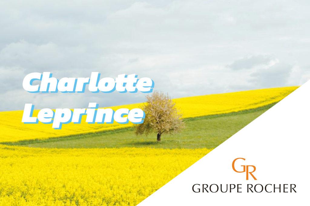 Interview de Charlotte Leprince