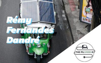 Interview Rémy Fernandes Dandré – à l'initiative d'un voyage en Tuk Tuk électrique