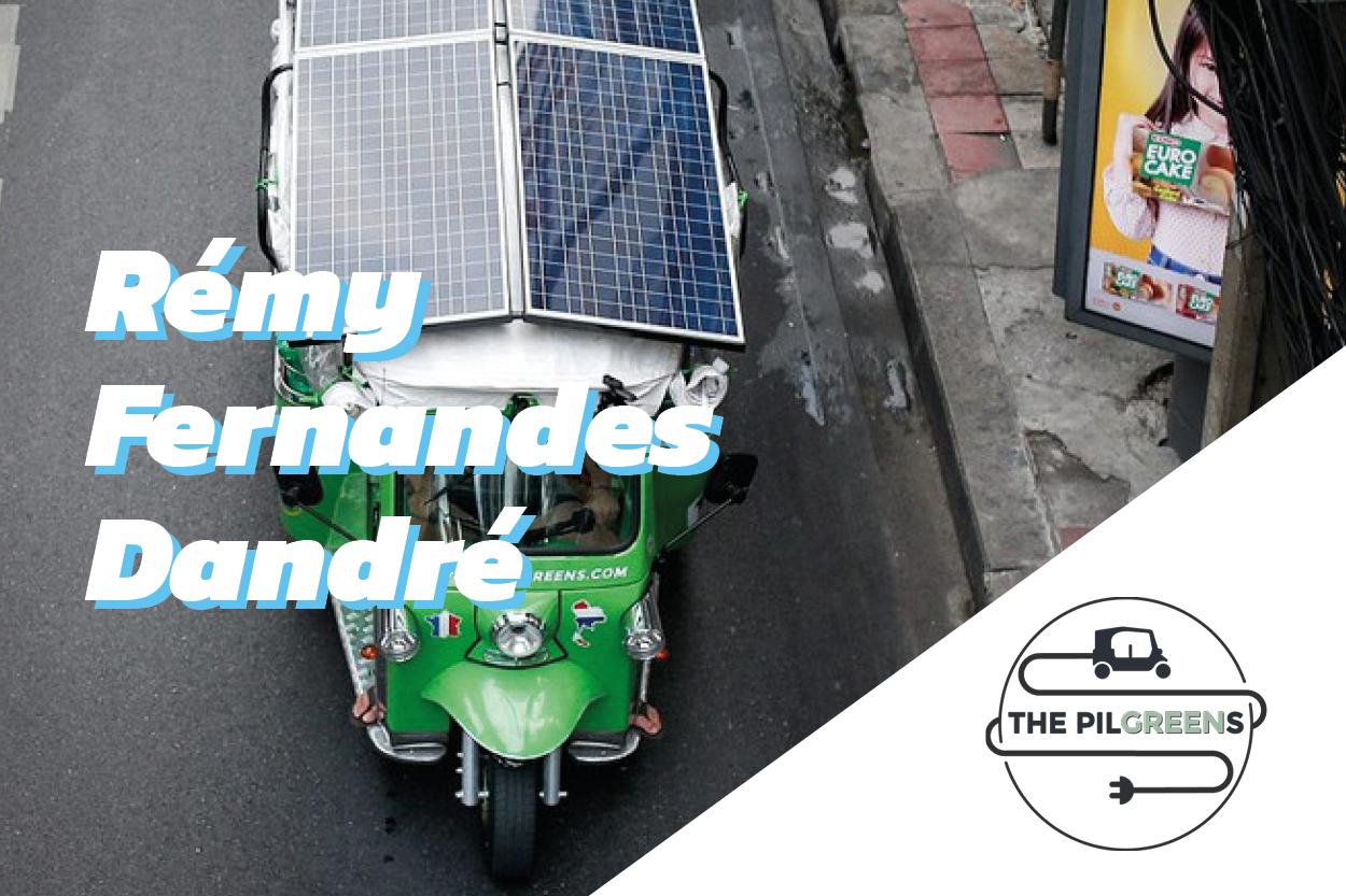 Interview de Rémy Fernandes Dandré