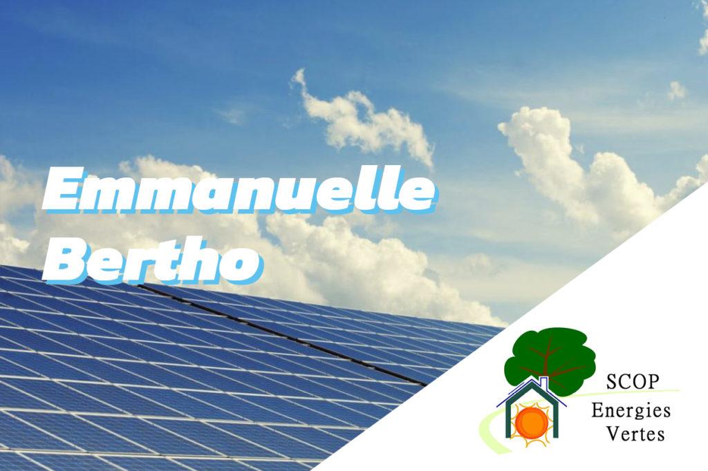 Interview d'Emmanuelle Bertho