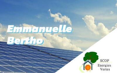 Emmanuelle Bertho, spécialiste énergie et environnement