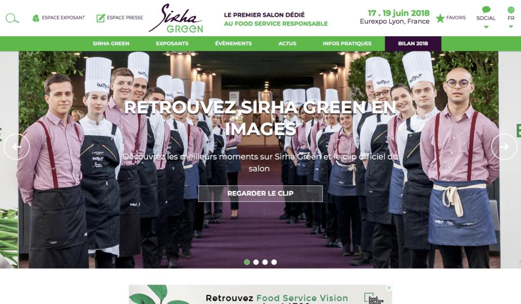 Le SIRHA Green, le salon dédié à la food service responsable -événements green professionnels
