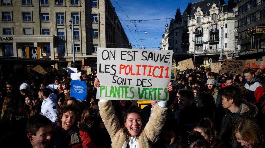 les jeunes s'engagent pour le climat