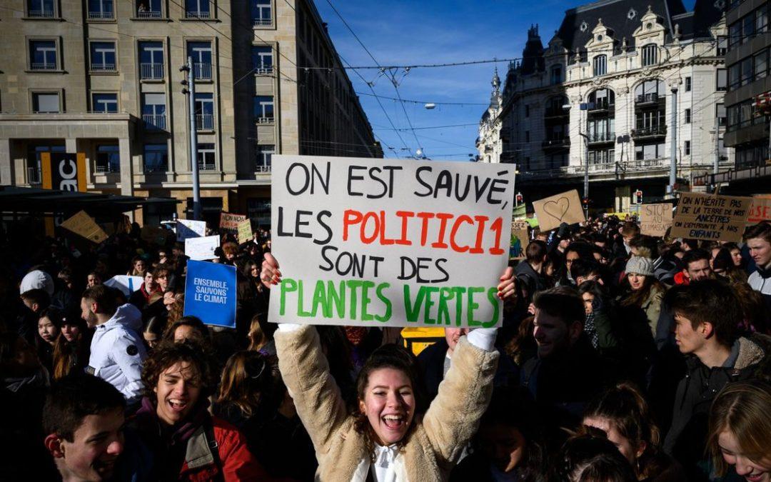 Les jeunes se bougent pour le climat