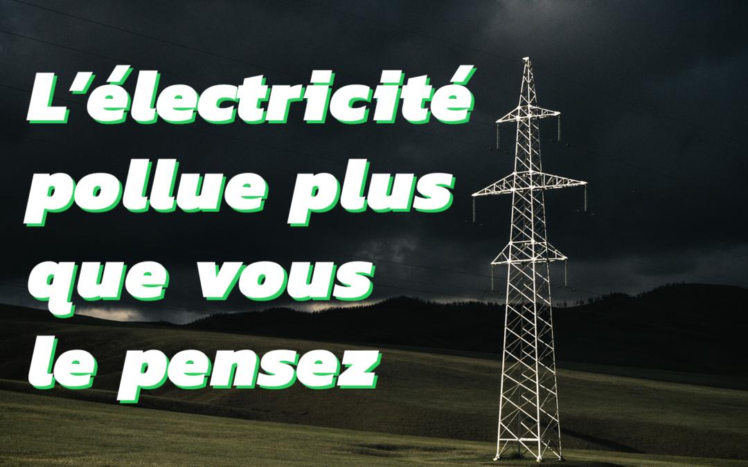 42% des émissions de CO2 sont dues à l'électricité