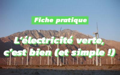 Pourquoi c'est important de consommer de l'électricité verte !