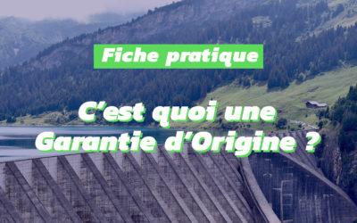Les Garanties d'Origine soutiennent la production d'électricité verte