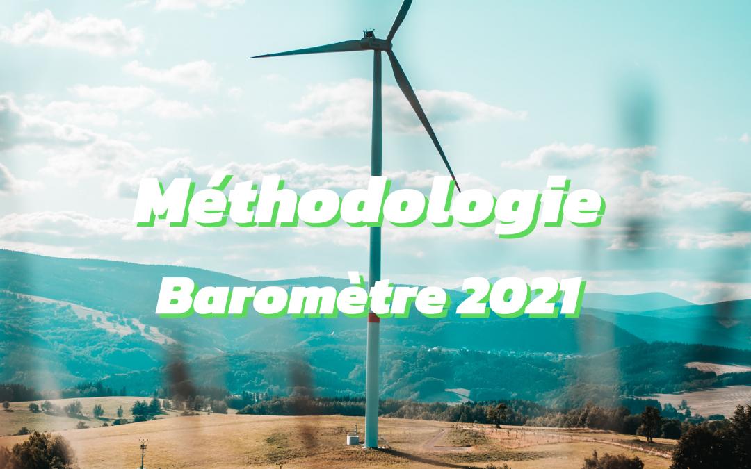 Baromètre 2021 – Notre méthodologie