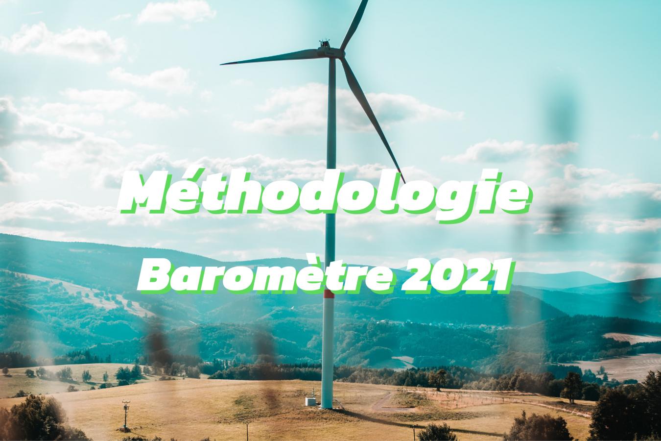 méthodologie de calcul baromètre 2021