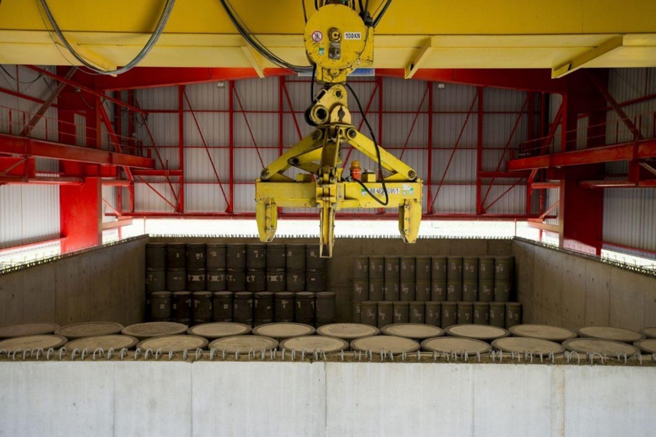 Centre de stockage de déchets radioactifs dans l'Aube en France