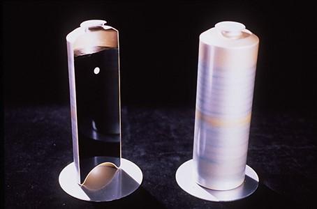 Exemple d'un colis de déchet nucléaire vérifié