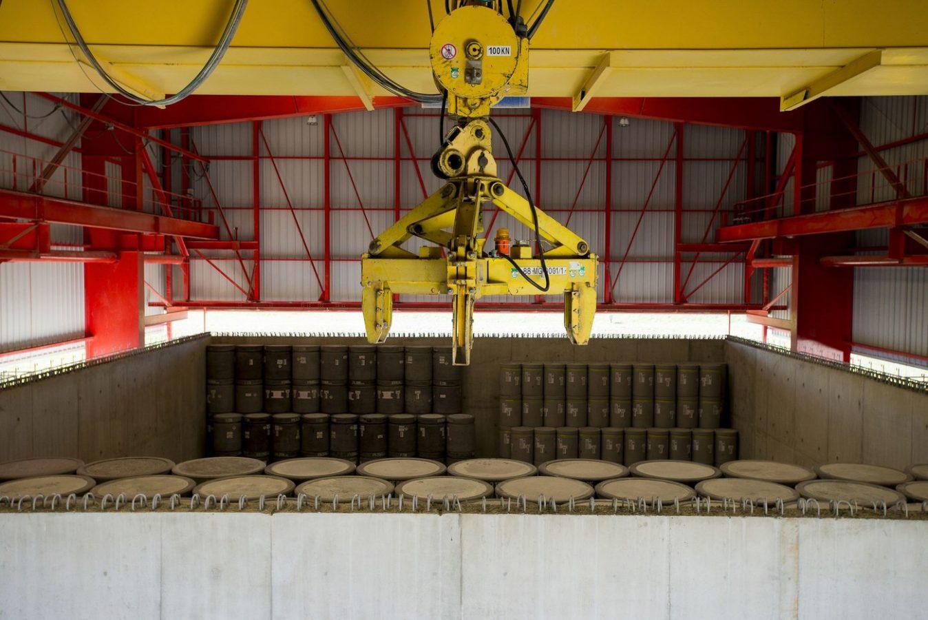 Le Centre de stockage de l'Aube pour les déchets de faible et moyenne activité à vie courte est en exploitation depuis le 13 janvier 1992.