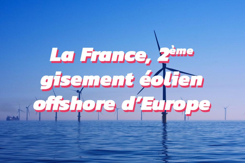 Les projets de parcs éoliens offshore en France