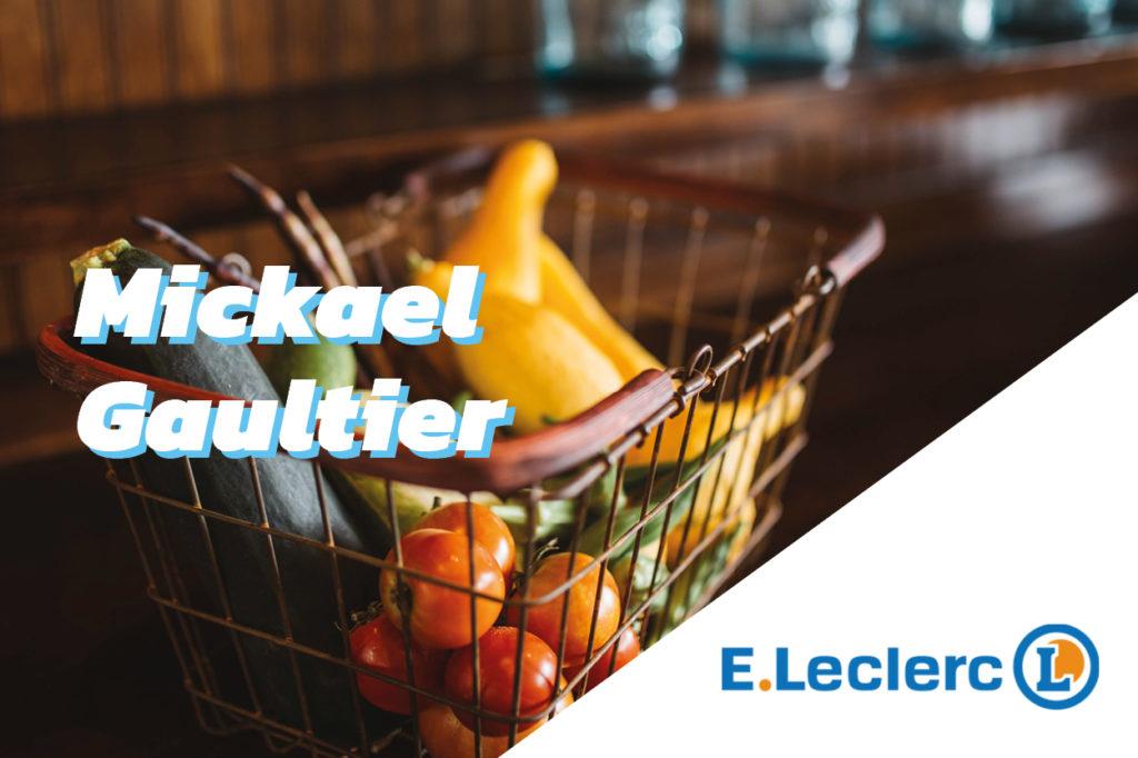Le directeur de l'hypermarché Sodiflers Mickael Gaultier s'engage pour l'énergie et l'écologie