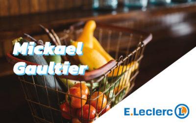 Le directeur du E.Leclerc à Flers, Mickael Gaultier s'engage pour l'énergie et l'écologie