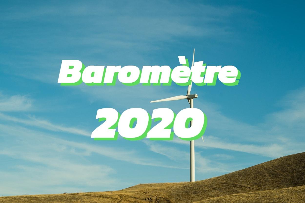 Baromètre 2020 de la consommation d'électricité verte en France