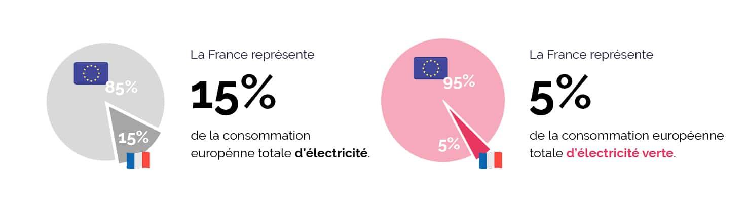 Marché et consommation de l'électricité en europe