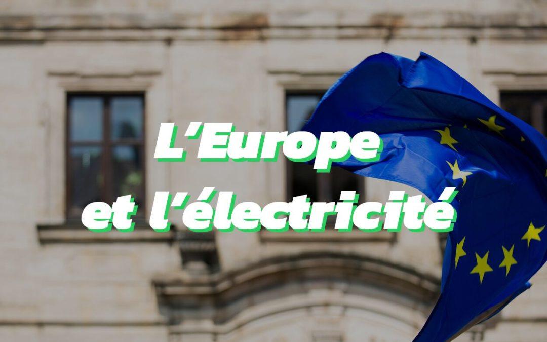 Production et consommation électrique des pays européens