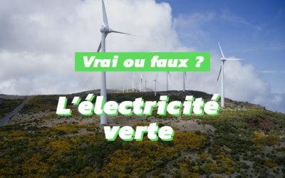 Idées reçues sur l'électricité verte
