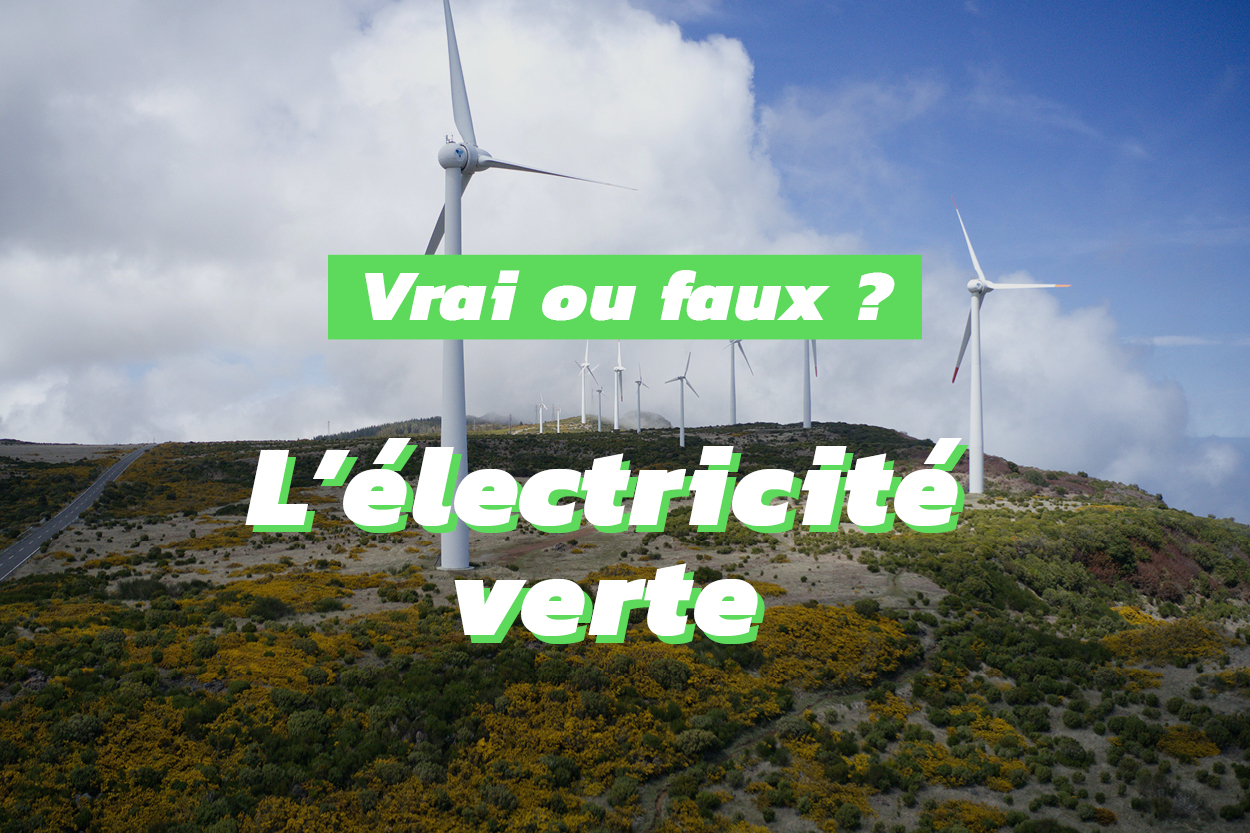 Le point sur les idées reçues liées à l'électricité verte
