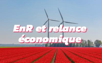 Les énergies renouvelables : moteur de relance pour l'économie