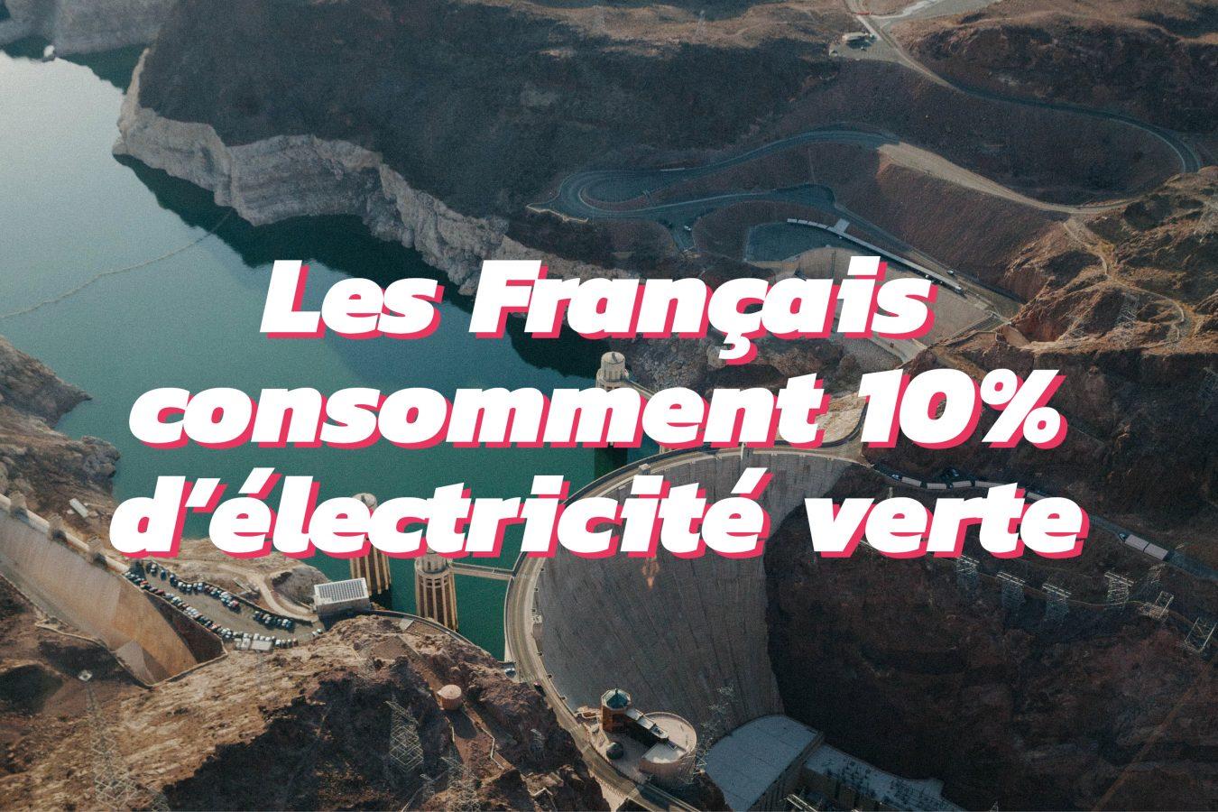 Consommation volontaire d'électricité verte en France et en Europe