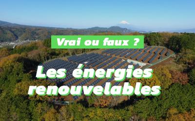 Idées reçues sur les énergies renouvelables