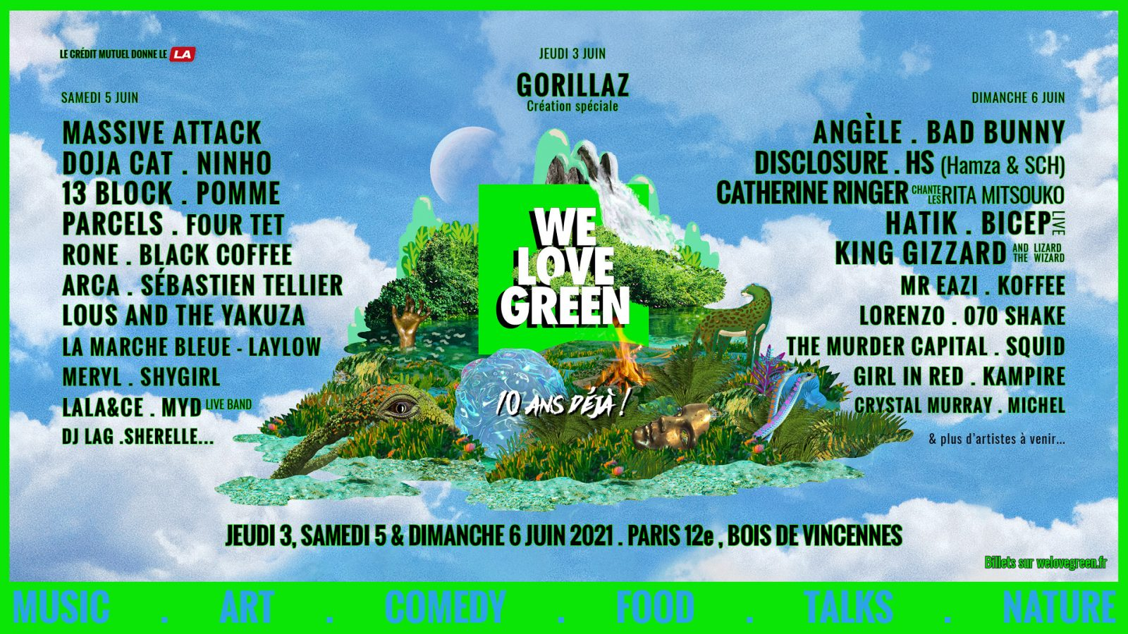 we love green l'événement green grand public de 2021