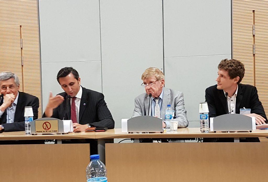 Intervention lors du colloque à l'Assemblée Nationale sur le financement de la transition énergétique