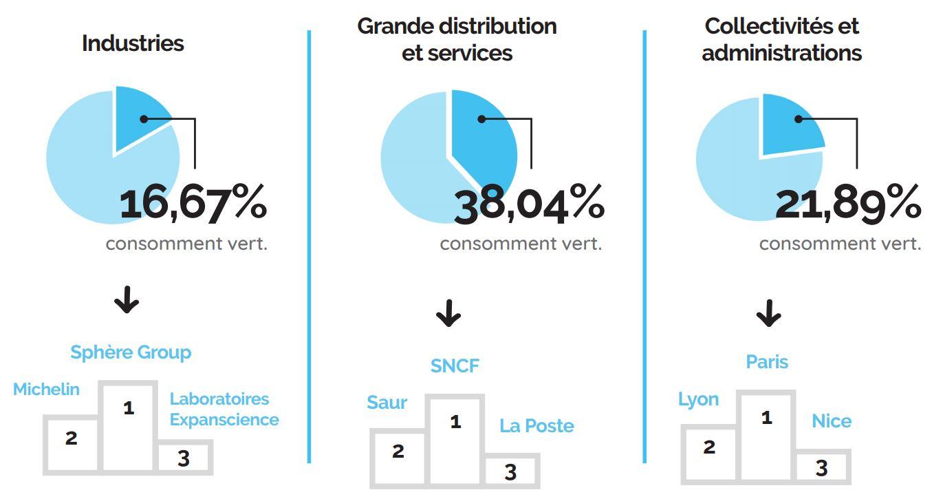 consommation d'électricité des entreprises en france