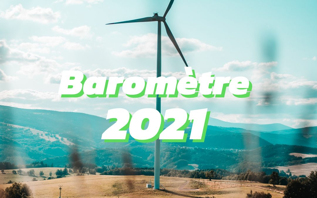 Baromètre 2021 de la consommation d'électricité verte en France