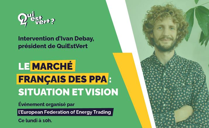 Invitation à l'événement de l'EFET et RE-SOURCE sur le marché français des PPA